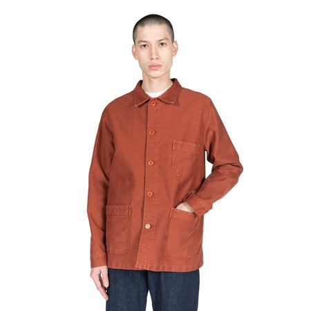 Le Mont St. Michel Genuine Work Jacket - Brick