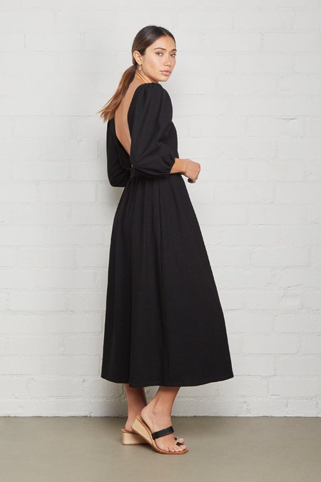Rachel Pally Linen Canvas Roma Dress - Licorice