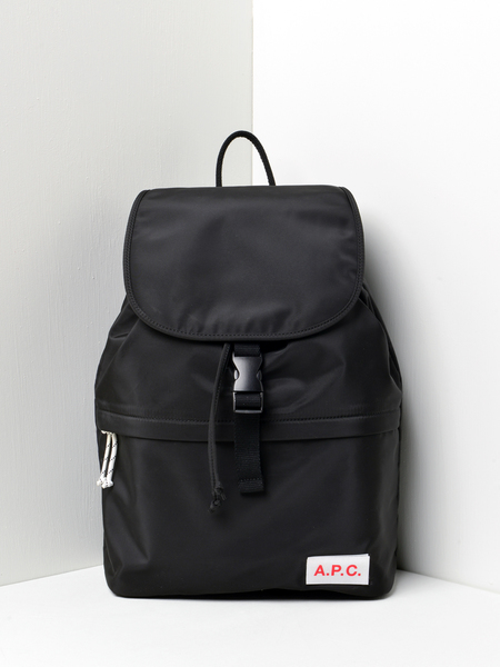 A.P.C. Protection Clip Backpack - Black