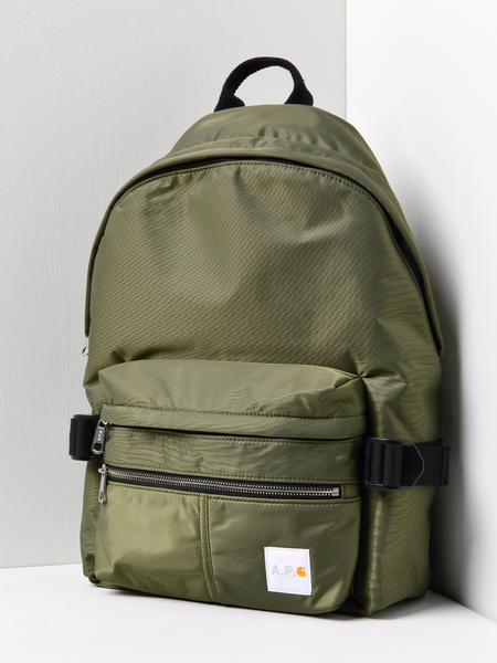 A.P.C. x Carhartt Backpack - Khaki