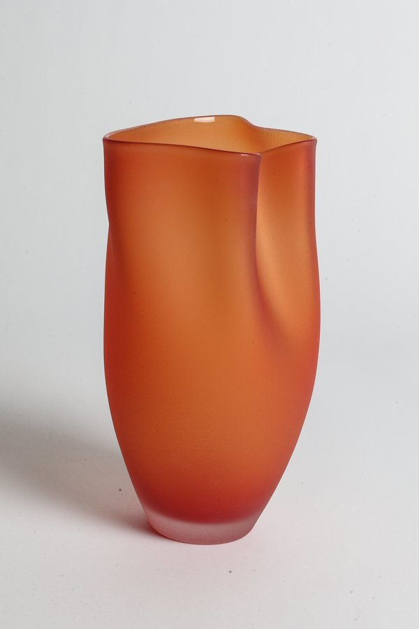 Jeff Goodman Studio Ovelle Glass - Strawberry