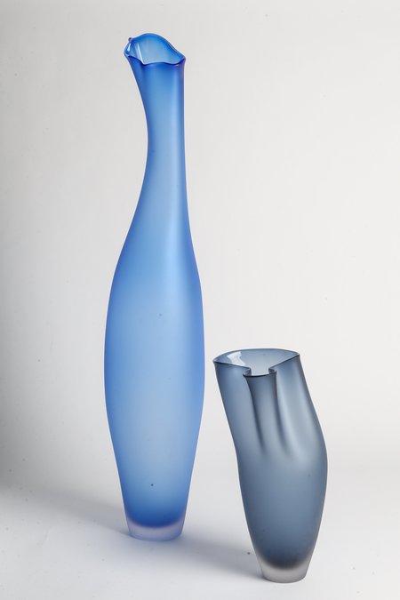 Jeff Goodman Studio Lima Glass - Cerulean Blue