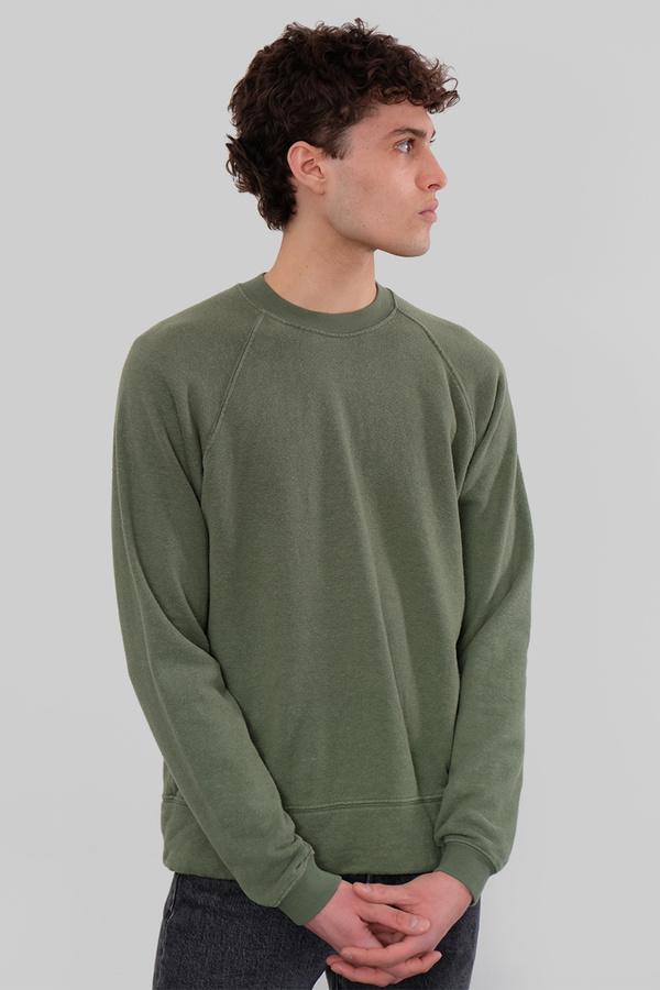 Jungmaven Sierra Hemp Sweatshirt - Spruce Green