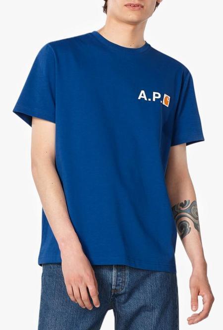 A.P.C. x Carhartt WIP Fire T Shirt