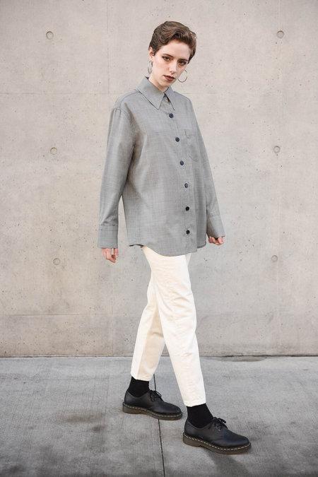 Unisex Delancey Genderless Wool Shirt
