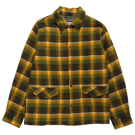 August Fifteenth Vermont Jacket Plaid - Green/Brown/Yellow