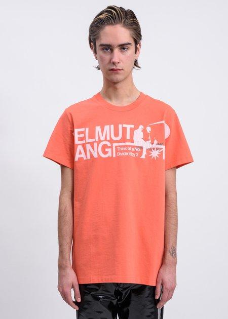 Helmut Lang Pelvis Standard T-Shirt - Opal Red
