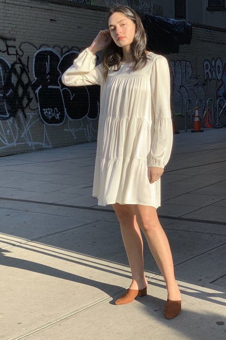 Lacausa Iris Mini Dress - Ivory/Panna Cotta