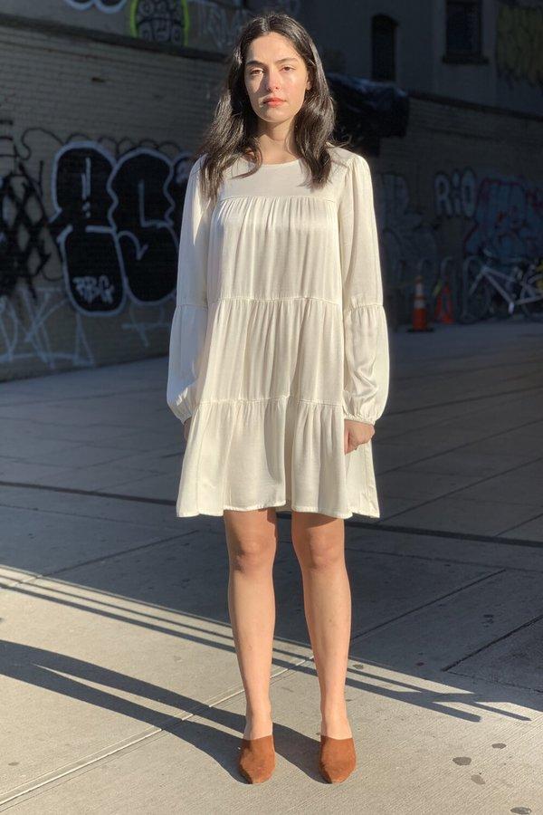 Lacausa Iris Mini Dress - Ivory/Panna Cotta