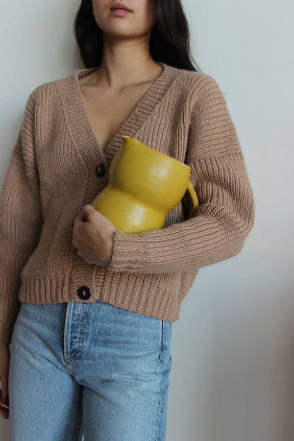 KATI VON LEHMAN water pitcher - yellow
