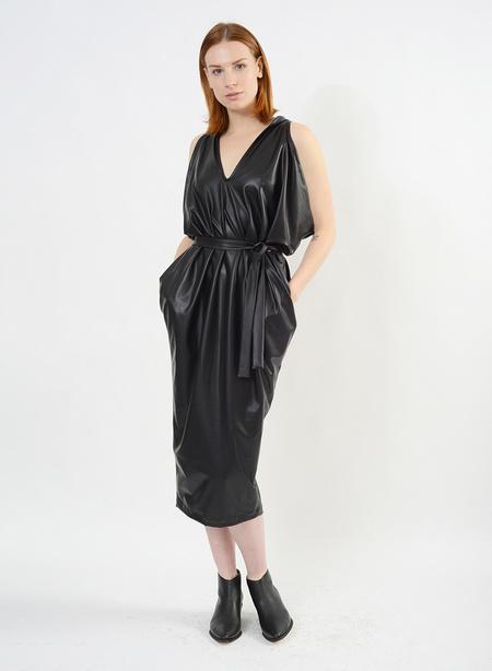 Meg Pleather Airflow Dress