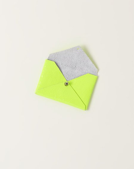 Tracey Tanner Andie Pouch - Yellow Fluoro