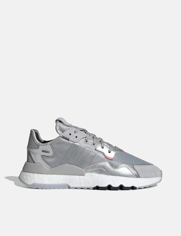 Adidas Nite Jogger Trainers Silver Metallic on Garmentory