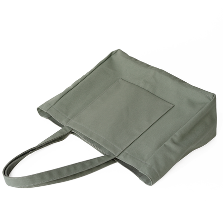 Makr Offset Tote - Agave Domestic Canvas
