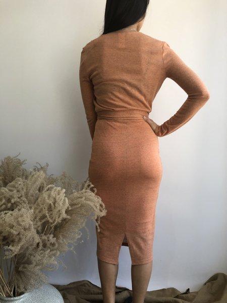Eve Gravel Mad Desire Dress - Grapefruit