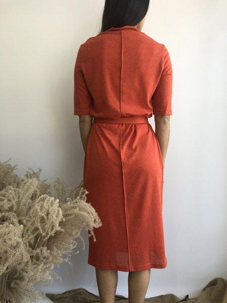 Eve Gravel Tell Me Now Dress - Vermillion