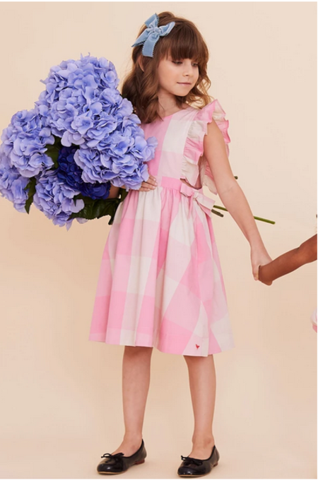 Kids Pink Chicken Amy Dress
