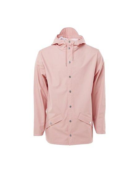 Unisex Rains Raincoat Jacket - Coral