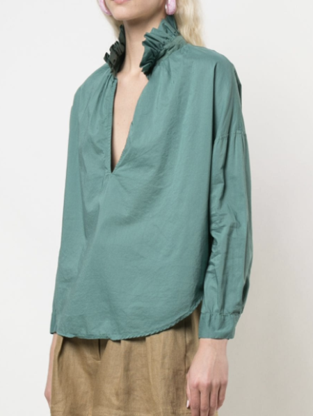 A Shirt Thing Penelope Top - Pine