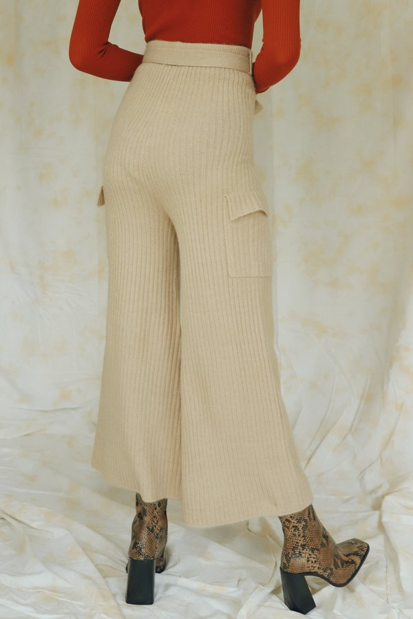 Line & Dot Ryder Sweater Pants - Taupe