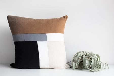 Mallow Soft Goods Quilted Pillow