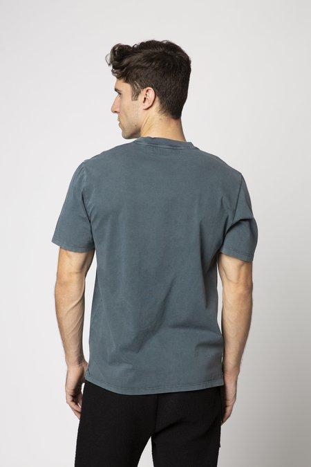 CRAIG GREEN Embroidered Hole T-Shirt - Green Acid