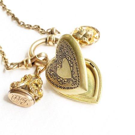 Vintage Piper Jon Talisman Charm Necklaces No. 5
