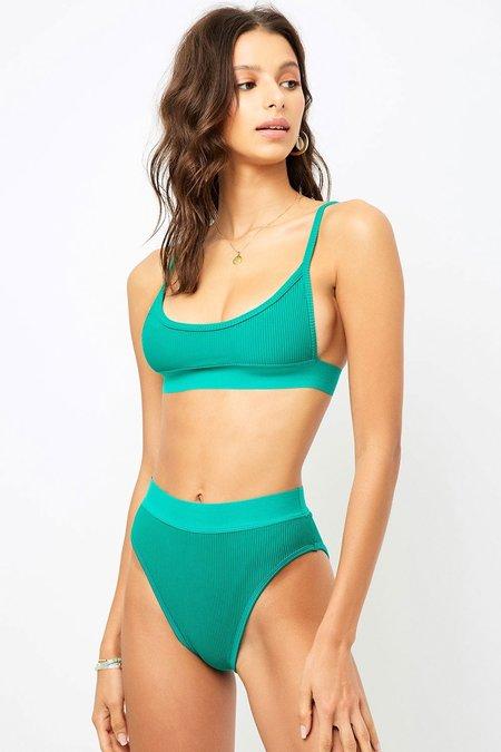 Frankies Gabrielle Top - Emerald