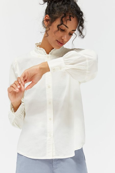 Lacausa Raven Blouse - Panna Cotta