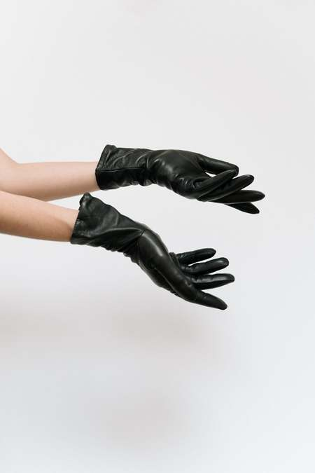 Clyde Gloves - Tan/Black