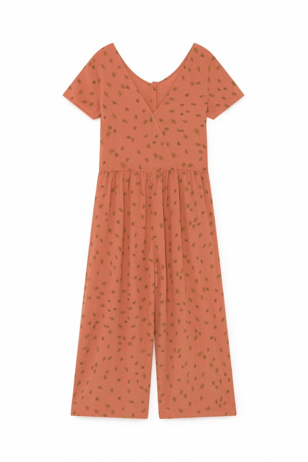 Bobo Choses All Over Daisy Overall - red