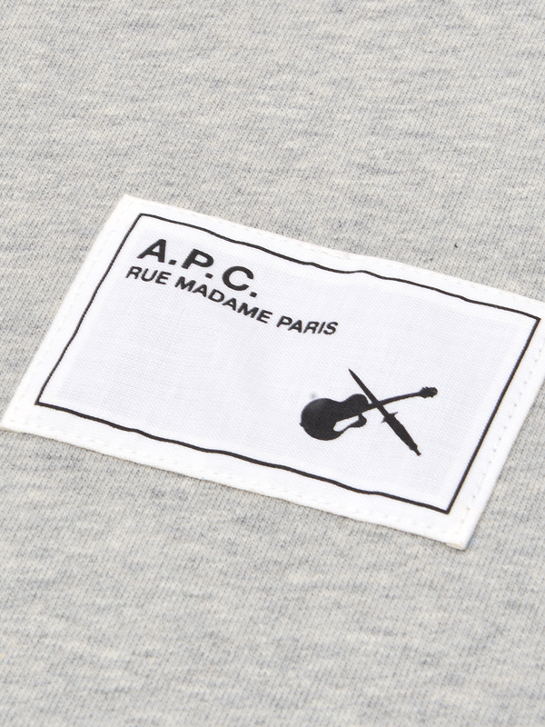 A.P.C. Neil Sweat - Gris