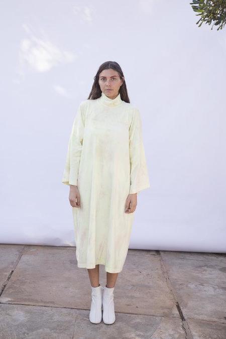 323 Algae Tie Dye Turtleneck Dress
