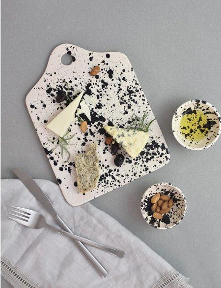 OWO Cerámica Rock Cheese Board