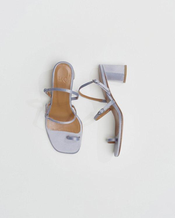 LOQ Alba sandal - Luna Satin