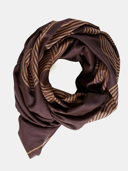 block shop poiret scarf - aubergine