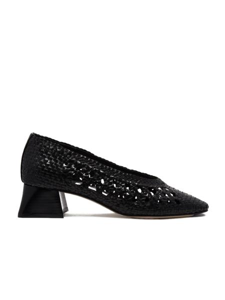 MIISTA Arethusa Woven Mid-Heel - Black