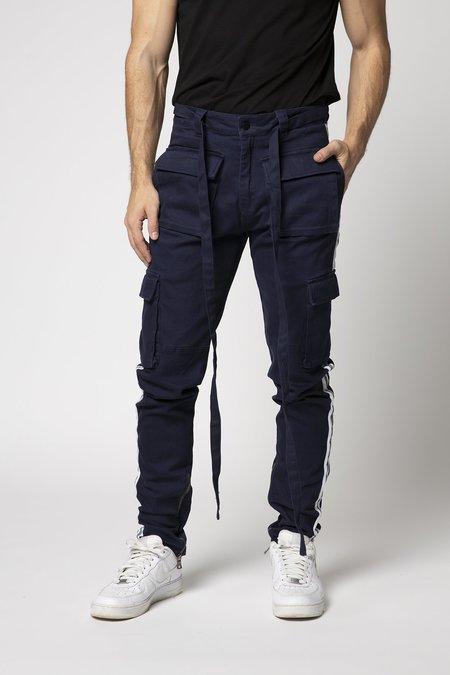 EPTM. Reflective Cargo Twill Pants - Navy