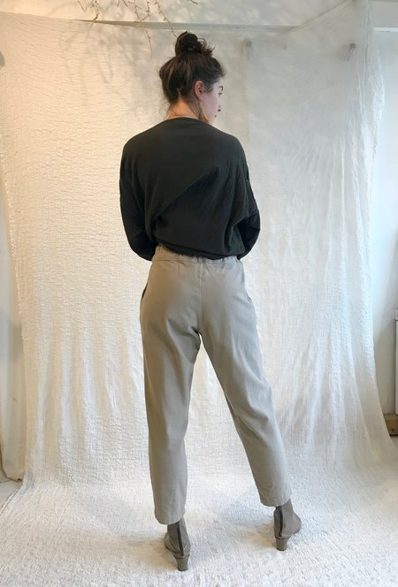 Black Crane Carpenter Pant - Ash