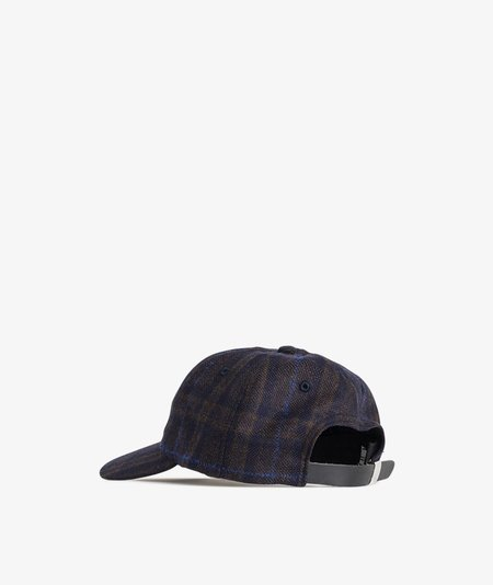 Norse Projects Checked Wool Cap - Ombre