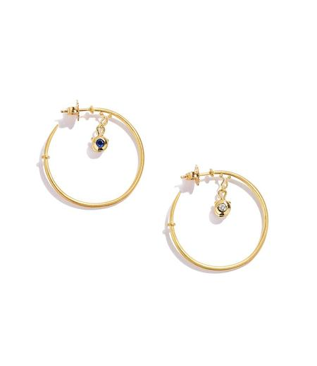 Renato Cipullo Medium Giro Hoop Earrings - Yellow Gold