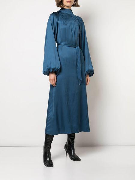 ROCHAS Palace Dress - Medium Blue