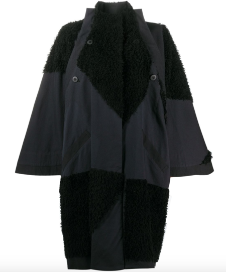 Issey Miyake Coat - Black