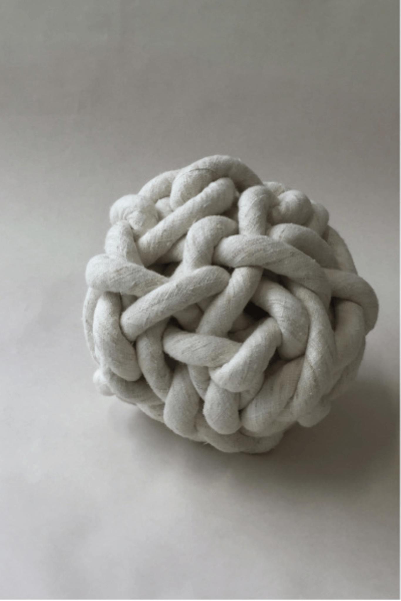 Bartleby Objects Silk Knot Pillow Garmentory