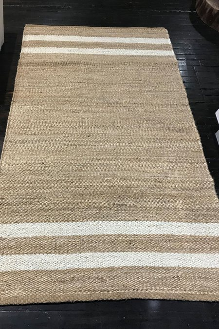 Lido World Jute Rug - Natural/Cream
