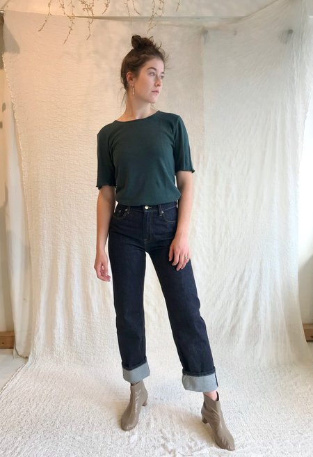 Girls of Dust Patty Boy Selvedge Denim Jeans - Indigo Blue