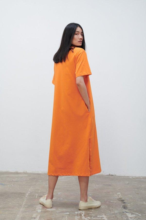 Studio Nicholson Boyd Dress - Saffron