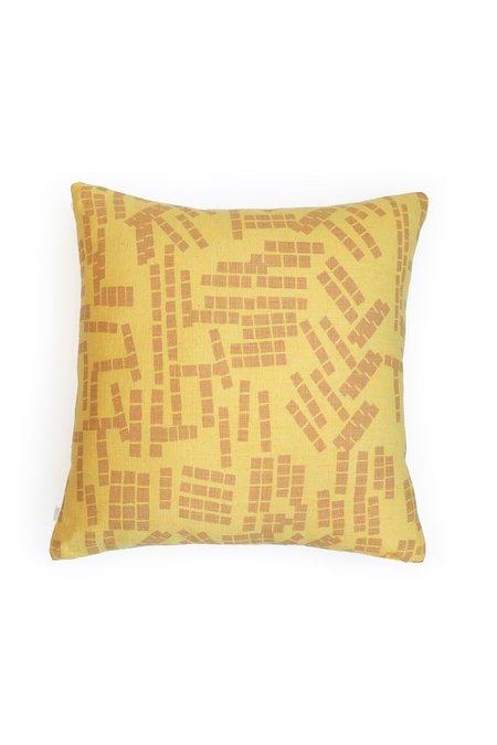 Jenny Pennywood Sun Shell Tile Pillow