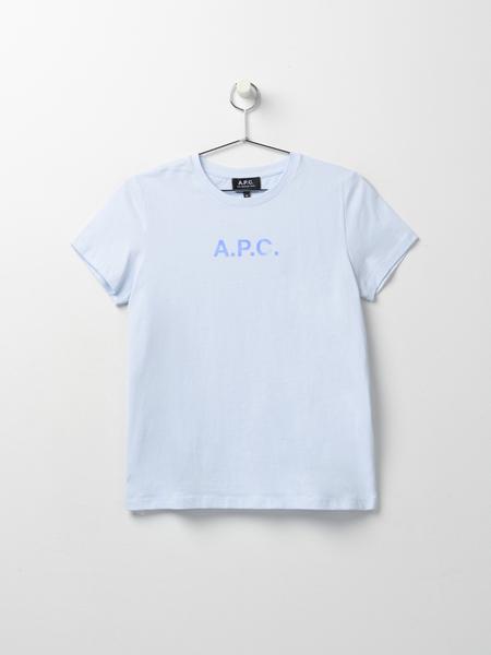 A.P.C. Stamp T-Shirt - Bleu Clair