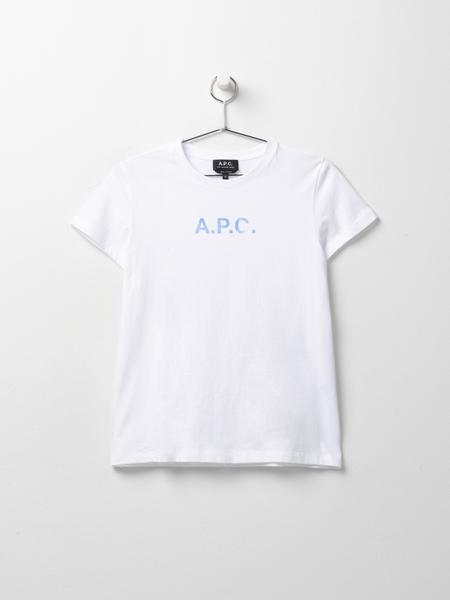 A.P.C. Stamp T-Shirt - Blanc
